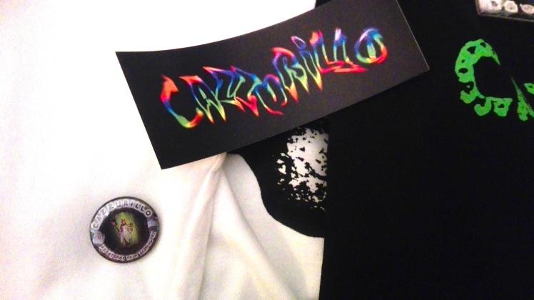 CAZZURILLO Sticker & pin