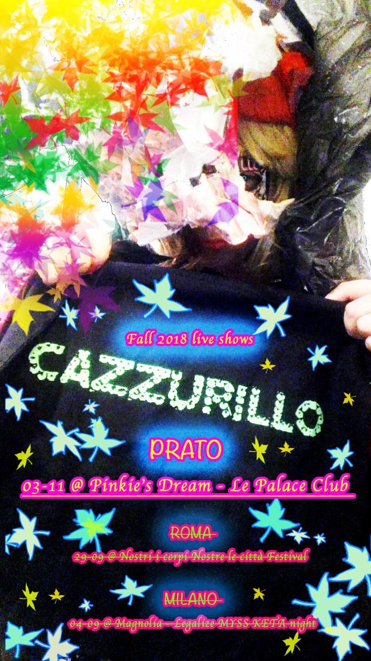 CAZZU fall tour 2018_2