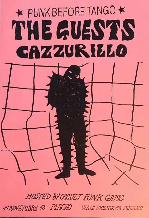 CAZZURILLO + The Guests @ Macao