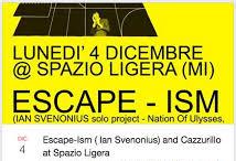 cazzurillo + ian svenonius escape ism ligera