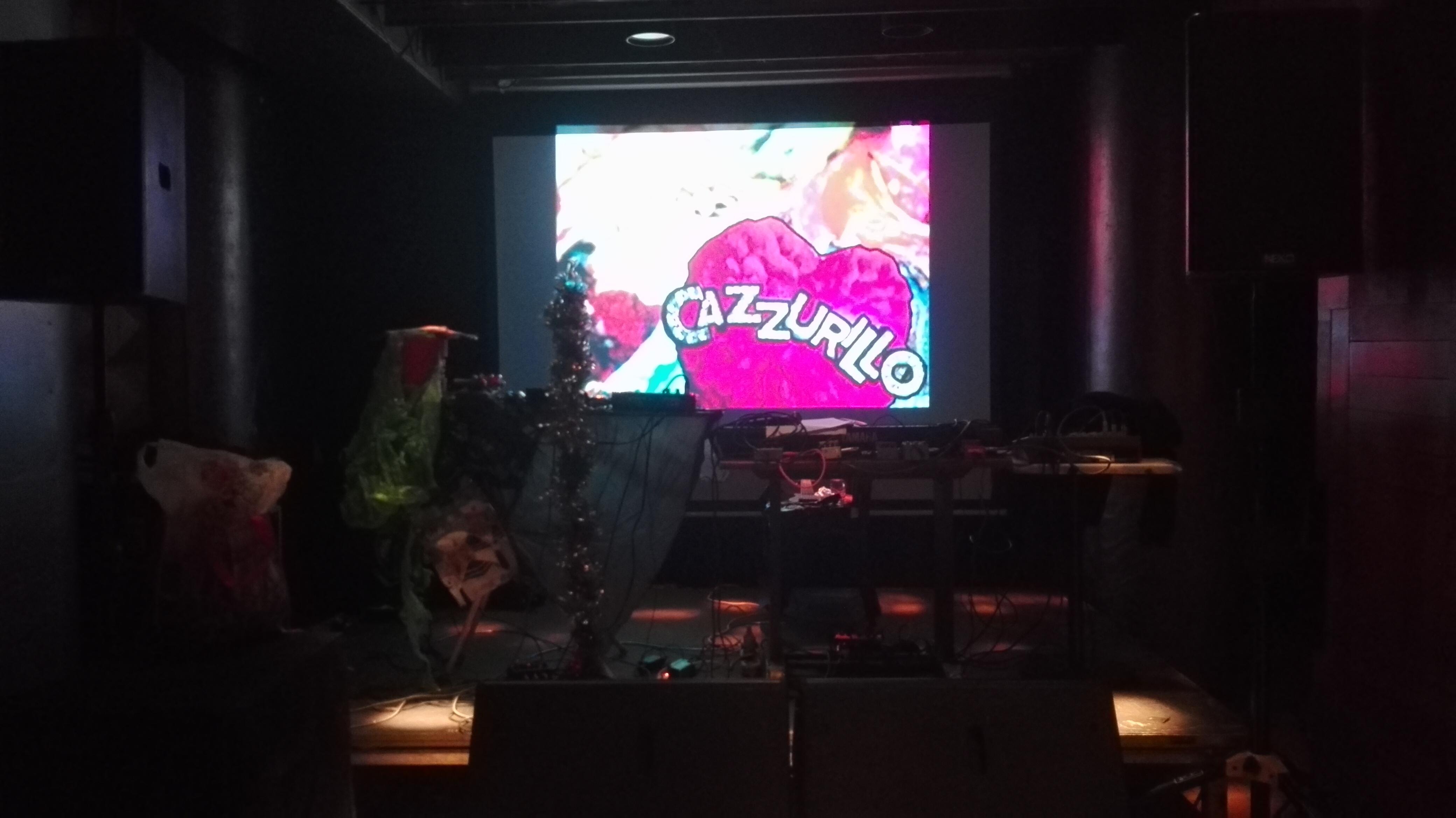 CAZZURILLO live @ Café Central Bruxelles 07-12-2017